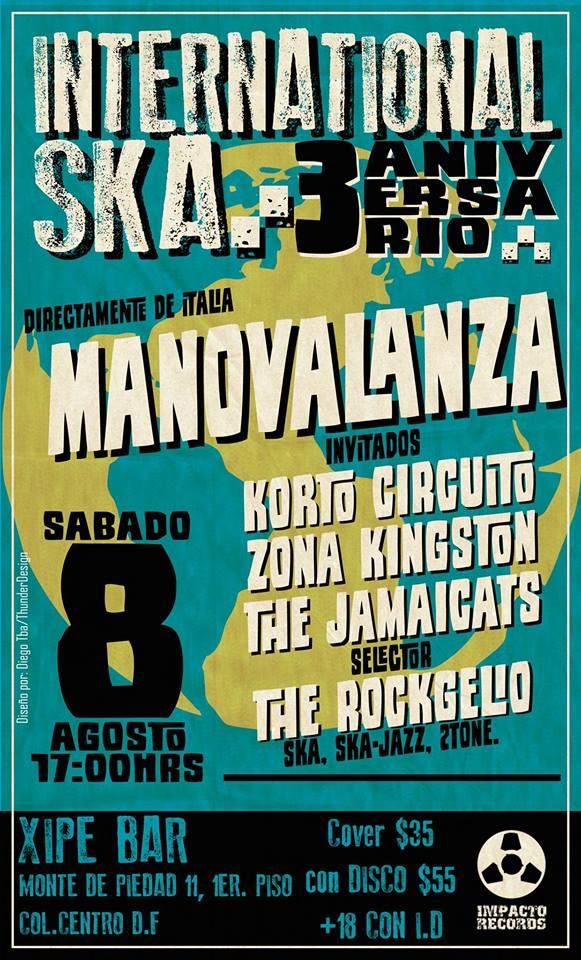 Manovalanza 8 agosto Mexico